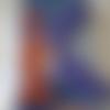 """Lettre adhésive en bois peint   - représentant la lettre  """"k"""" comme kangourou"""