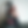 Doudou chat mistigri et sa souris en feutrine - brodé et cousu main