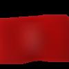 Bandeau en laine rouge pour fille - pièce unique