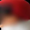 Bonnet chapeaux polaire pour fille, rouge noir - pièce unique