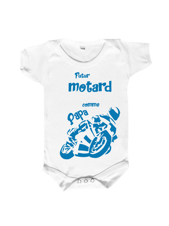 "body bébé""futur motard comme papa"""