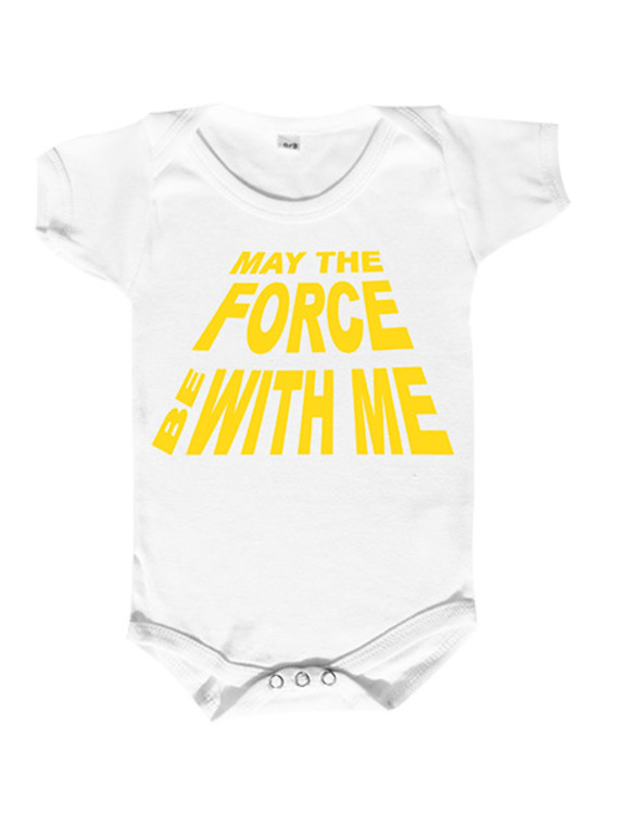"""body bébé geek """"may the force be with me... """" dicton jedi, body humour"""