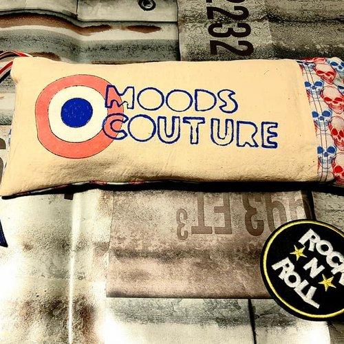 Trousse en tissu moods couture