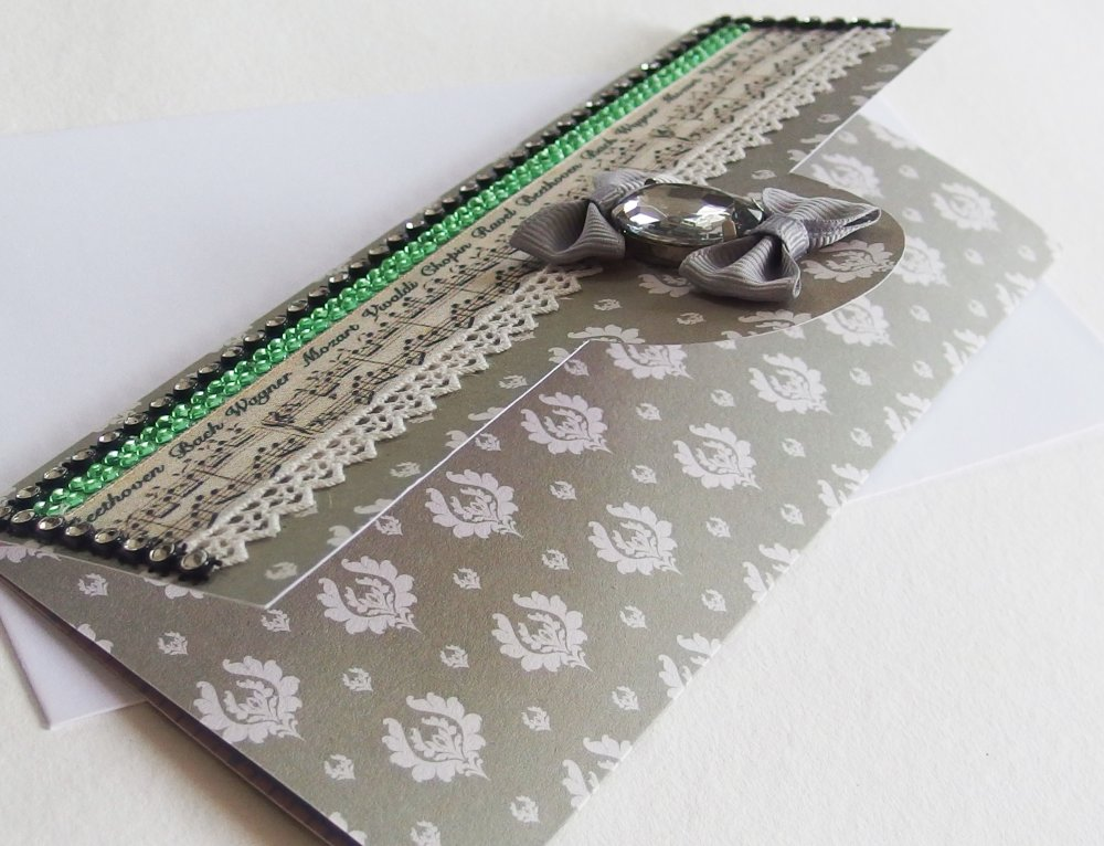 Carte enveloppe chèque-cadeau