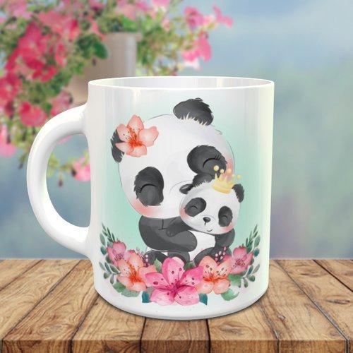 Design pour sublimation mug - panda 009