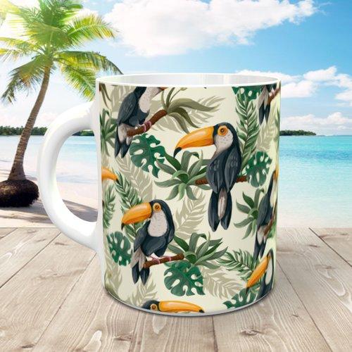 Design pour sublimation mug - toucan 001