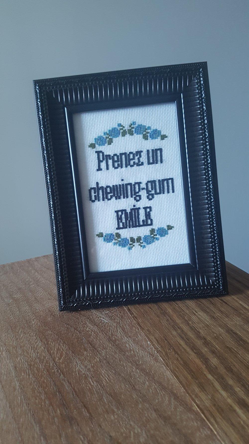 Prenez un chewing gum Emile!