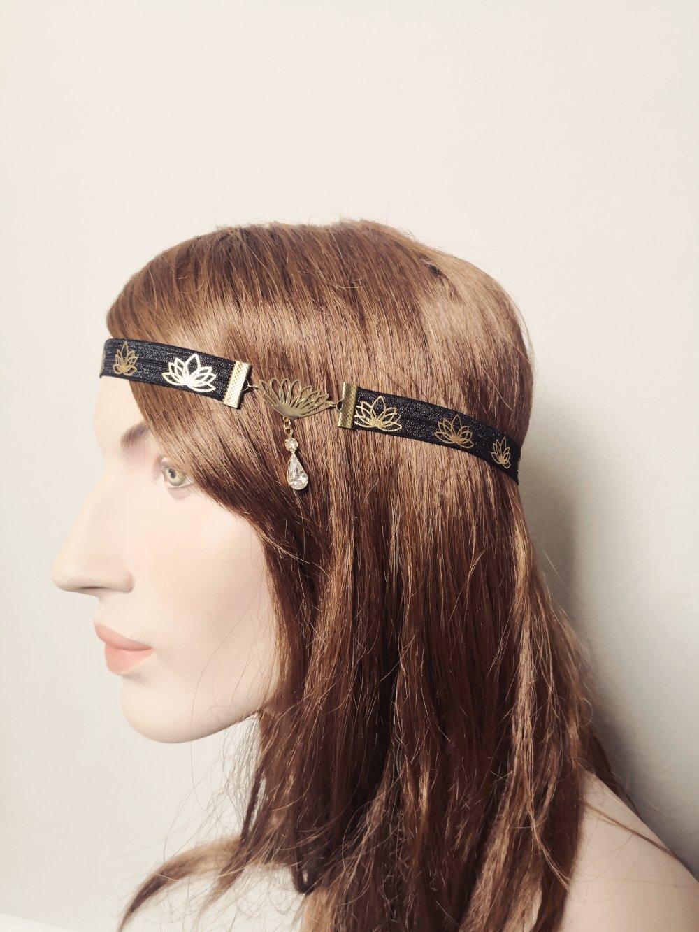 Headband lotus