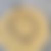 Bracelet breloque œil doré en lapis lazuli