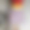 Jupe trapèze taille élastique, jupe courte et ample, jupe en coton taille 42