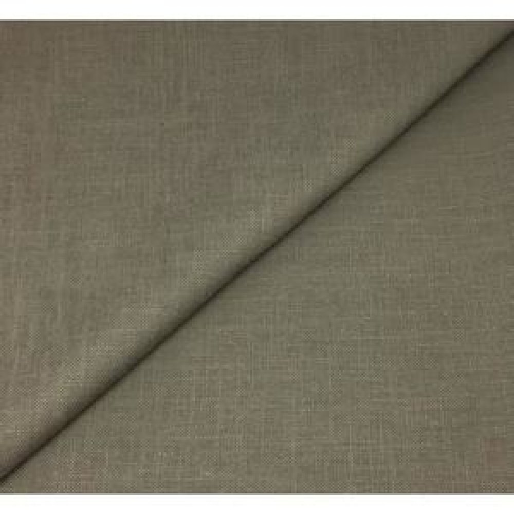 RÉSERVÉ / Pantalon en lin couleur kaki, avec 2 poches latérales