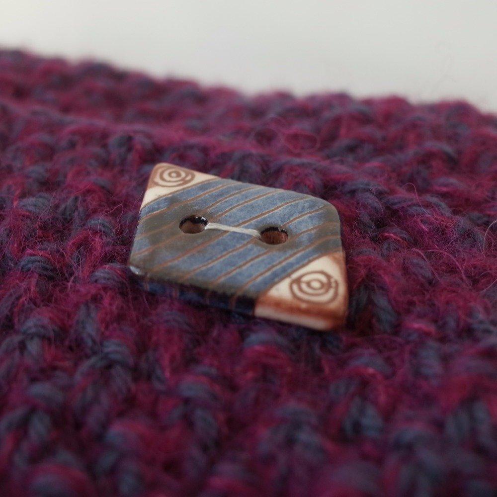 Tour de cou en laine et alpaga