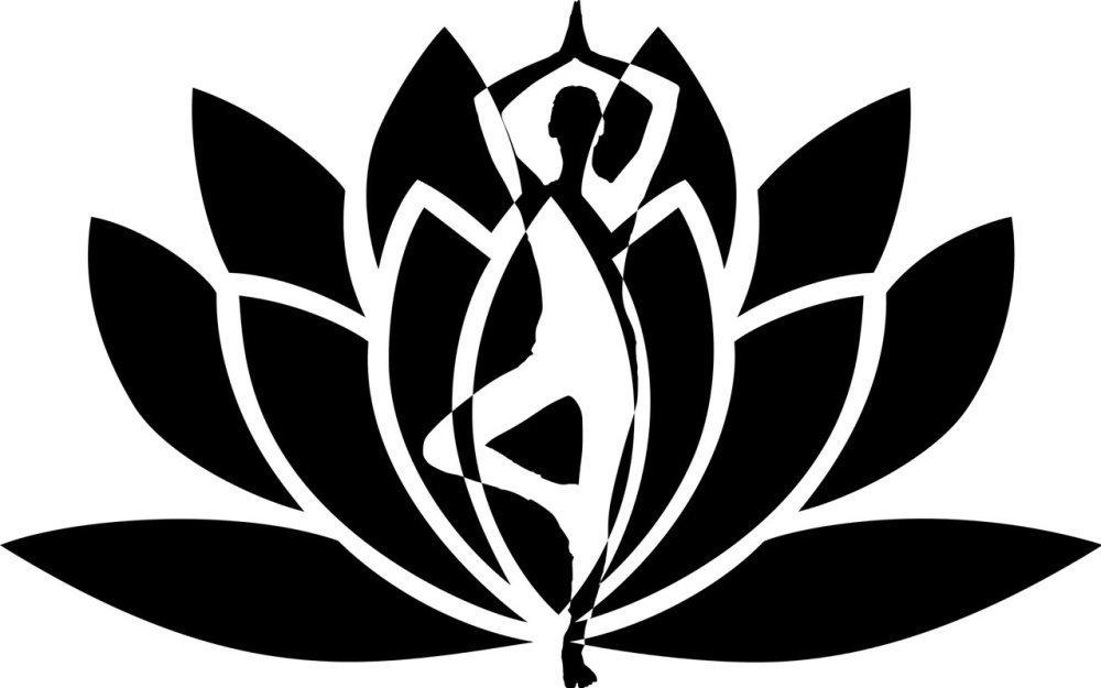 Fleur de lotus Yoga Zen en flex
