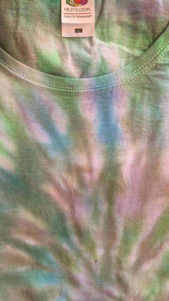 tee shirt manches courtes tie & dye spirales