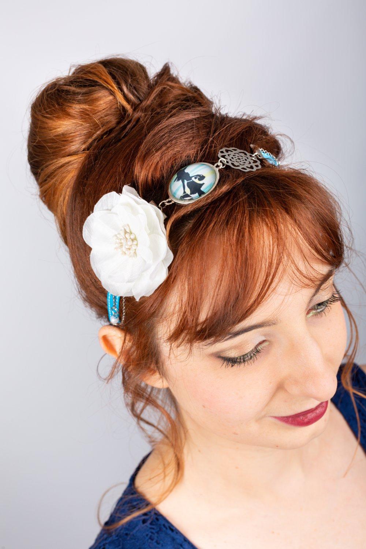"Headband fleur ""Shopping"""