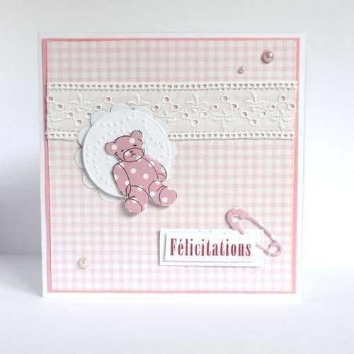 carte de félicitations naissance Carte félicitations naissance fille.,   Un grand marché