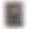 Plaque de porte, accroche poignée chien bulldog anglais