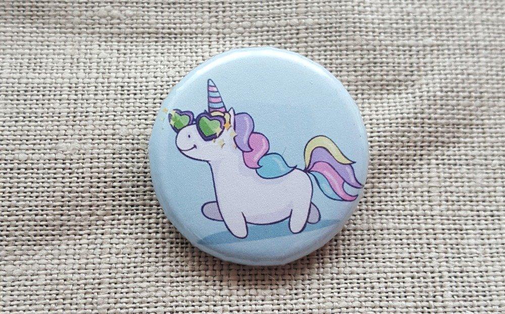 Badge licorne
