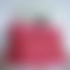 Dernier prix ! snood, col amovible, écharpe tube, doublé, réversible, laine fausse fourrure, rose, avec torsades , taille unique, femme