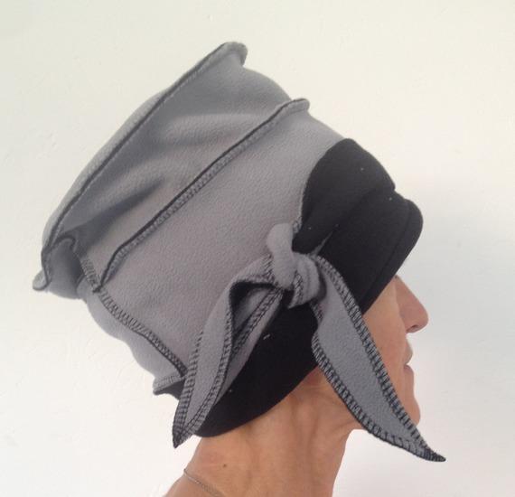 Chapeau polaire réversible Black'n Grey