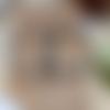 Boucles d'oreilles créole en amazonite naturelle facettée