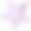 Découpe scrapbooking étoile dentelle, noel, fête, hiver, neige, nature, foret, ciel,  papier, embellissement, décoration, création