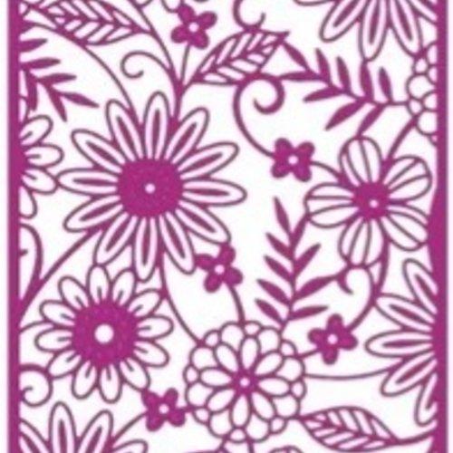 Découpes scrapbooking fleurs, nature, jardin, anniversaire, fête, cadeau, naissance, mariage, embellissement, die cut,