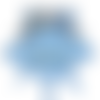 Doudou elephant personnalisé au prénom de bébé