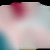 Serviette de toilette personnalisée 30 x 50 cm - rose fuchsia