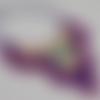 Collier plastron au crochet, collier femme multicolore inspiration ethnique