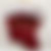"""Chaussette de noël cerf """"joyeux noël"""" personnalisée brodée par un prénom"""