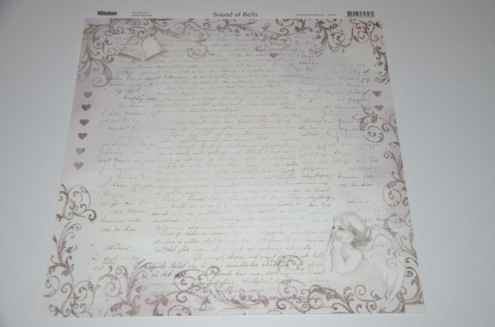 5 feuilles de papier pour scrapbooking - thème vintage
