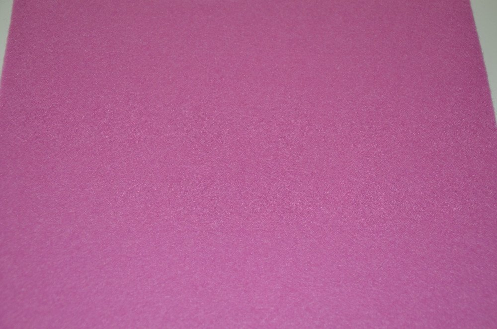 1 coupon de feutrine de viscose rigide - rose vif