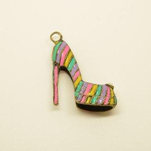 Pendentif escarpin chaussure Un grand marché