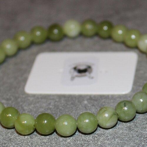 Bracelet péridot - pierres naturelles - 6mm