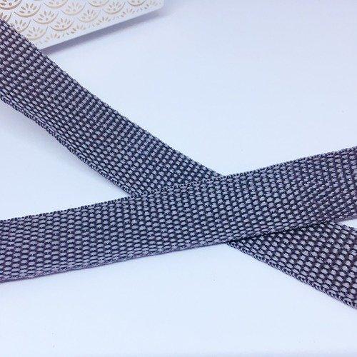 largeur  2,5 cm Plusieurs coloris 2 m gros grain en polyester Sangle ruban