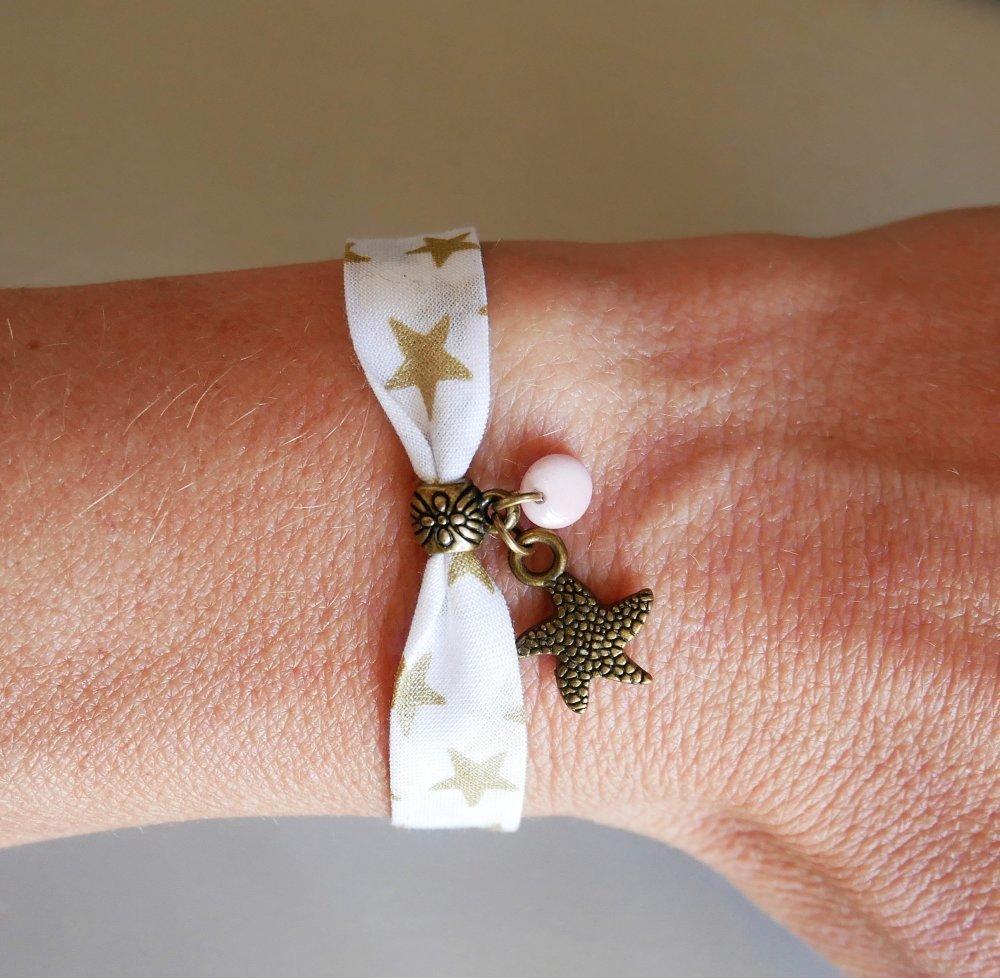 Bracelet liberty blanc