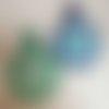 Eponge tawashi sourire, vaisselle ou corps, fait main au crochet, couleurs au choix,