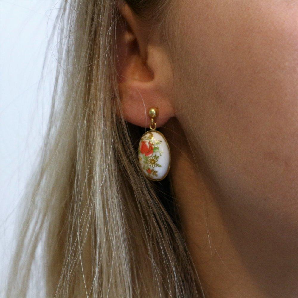 Boucles d'oreilles camés