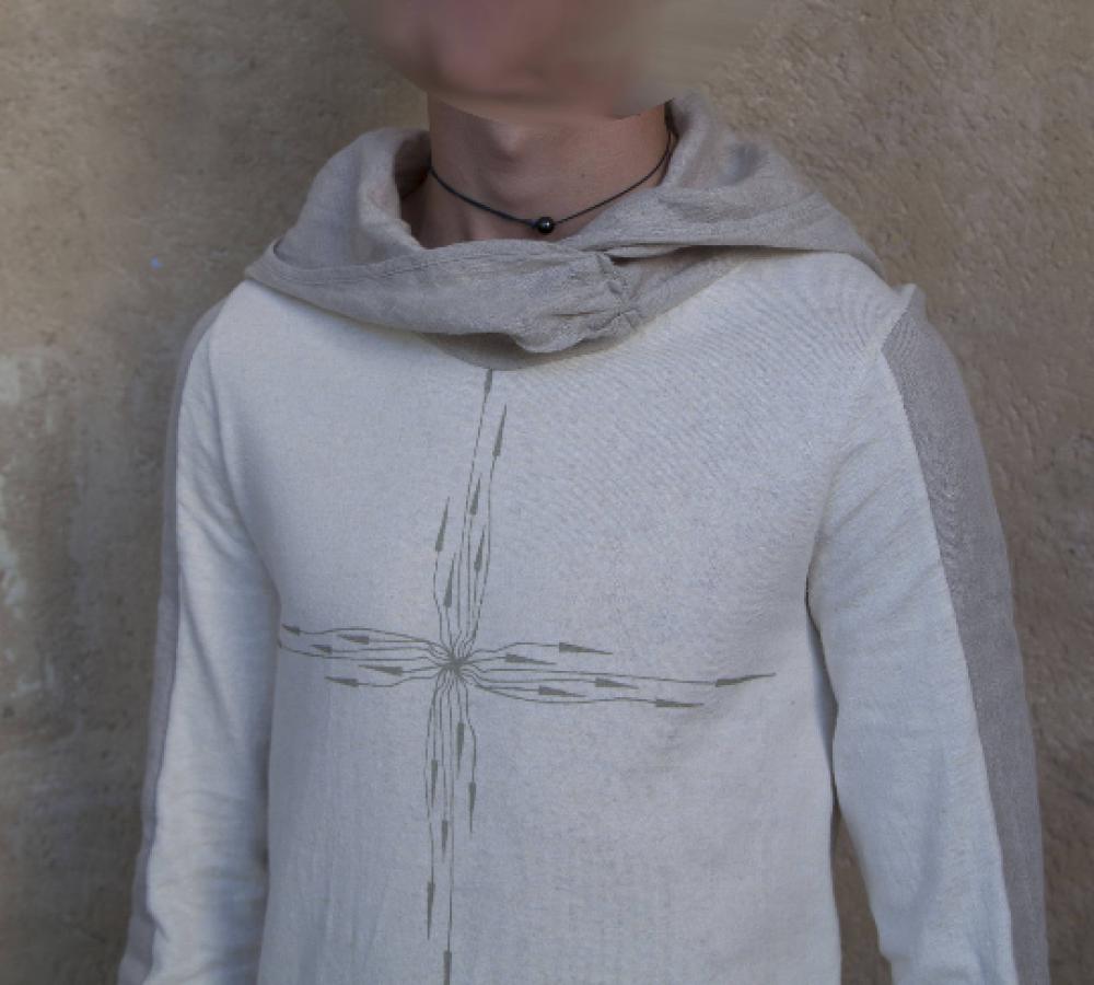T shirt en chanvre et coton bio manche longues