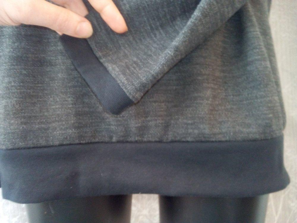 Sweat à capuche en coton bio et laine