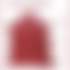 A405-s*   \\ peau cuir d'agneau crispé nappa rouge  //