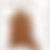 A122-s    \\  peau cuir d'agneau crispé plongé camel (xl)  //