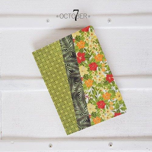 Carnet de notes format a5 ☆ jungle ☆ recueil de poème, livre d'or, journal intime