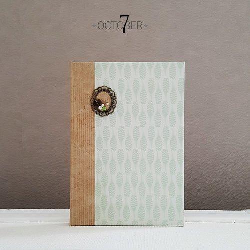Carnet de notes ☆ plume ☆ recueil de poème, livre d'or ou journal intime au style romantique