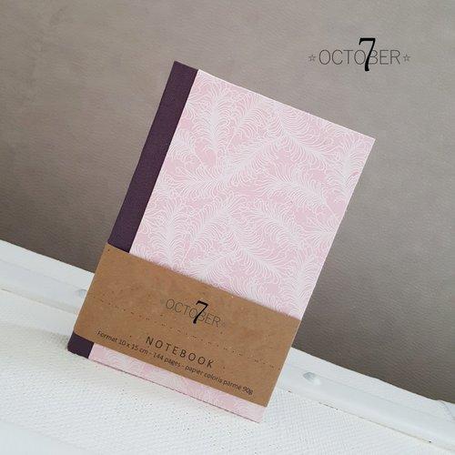 Petit carnet de poche { plume } à glisser dans son sac ou notebook pour ses pensées