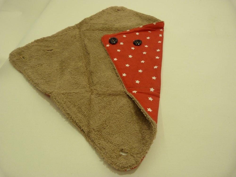 Trousse/serviette 2 en 1, cadeau naissance