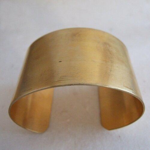 Support bracelet manchette en laiton - 37 mm
