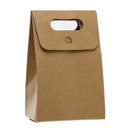 Lot de 3 pochettes cadeau cartonnées 15,50 cm x 10 cm
