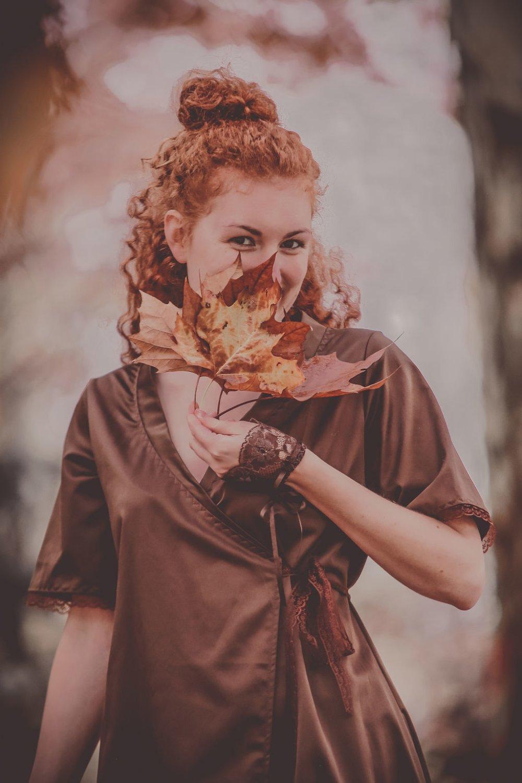 Robe Vénus marron